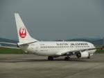 バンチャンさんが、岡山空港で撮影したJALエクスプレス 737-846の航空フォト(写真)