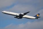 OMAさんが、羽田空港で撮影したルフトハンザドイツ航空 A340-642の航空フォト(写真)