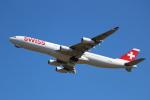 OMAさんが、成田国際空港で撮影したスイスインターナショナルエアラインズ A340-313Xの航空フォト(写真)