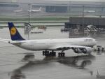 バンチャンさんが、羽田空港で撮影したルフトハンザドイツ航空 A340-642の航空フォト(写真)