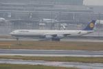 eagletさんが、羽田空港で撮影したルフトハンザドイツ航空 A340-642の航空フォト(写真)