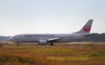 STAR TEAMさんが、小松空港で撮影した日本トランスオーシャン航空 737-446の航空フォト(写真)