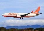 タミーさんが、静岡空港で撮影したチェジュ航空 737-8ASの航空フォト(写真)