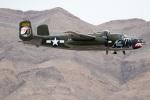 チャッピー・シミズさんが、ネリス空軍基地で撮影したTexas Flying Legends Museum B-25J Mitchellの航空フォト(写真)