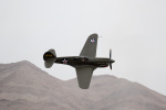 チャッピー・シミズさんが、ネリス空軍基地で撮影したTexas Flying Legends Museum P-40E Warhawkの航空フォト(写真)