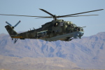 TAKA-Kさんが、ネリス空軍基地で撮影したアメリカ陸軍 Mi-24の航空フォト(写真)