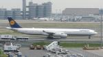 誘喜さんが、羽田空港で撮影したルフトハンザドイツ航空 A340-642Xの航空フォト(写真)