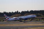 ☆ライダーさんが、成田国際空港で撮影したブリティッシュ・エアウェイズ 777-236/ERの航空フォト(写真)