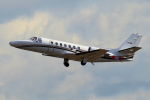 yabyanさんが、名古屋飛行場で撮影した中日本航空 560 Citation Vの航空フォト(飛行機 写真・画像)