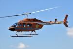 ヘリオスさんが、東京ヘリポートで撮影した新日本ヘリコプター 206L-3 LongRanger IIIの航空フォト(写真)