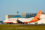 パンダさんが、成田国際空港で撮影したチェジュ航空 737-86Nの航空フォト(写真)