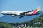 tabi0329さんが、福岡空港で撮影したアシアナ航空 777-28E/ERの航空フォト(写真)