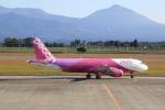 さとさとさんが、鹿児島空港で撮影したピーチ A320-214の航空フォト(写真)