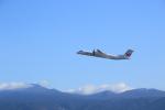 さとさとさんが、鹿児島空港で撮影した日本エアコミューター DHC-8-402Q Dash 8の航空フォト(写真)
