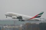 pringlesさんが、チューリッヒ空港で撮影したエミレーツ航空 A380-861の航空フォト(写真)