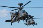 Tomo-Papaさんが、フェアフォード空軍基地で撮影したイギリス陸軍 AH-64 Apacheの航空フォト(写真)