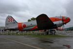 徳兵衛さんが、浜松エアパ-クで撮影した航空自衛隊 C-46A-50-CUの航空フォト(写真)