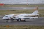 つっさんさんが、関西国際空港で撮影したMGMミラージュ ERJ-190-100 ECJ (Lineage 1000)の航空フォト(写真)