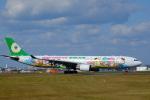 airhawk_oneさんが、福岡空港で撮影したエバー航空 A330-302Xの航空フォト(写真)