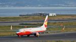 オキシドールさんが、関西国際空港で撮影した雲南祥鵬航空 737-808の航空フォト(写真)