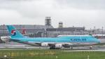 2wmさんが、台湾桃園国際空港で撮影した大韓航空 747-8B5の航空フォト(写真)