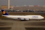 Bluewingさんが、羽田空港で撮影したルフトハンザドイツ航空 747-830の航空フォト(写真)