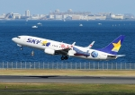 じーく。さんが、羽田空港で撮影したスカイマーク 737-86Nの航空フォト(写真)