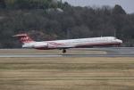 だいまる。さんが、岡山空港で撮影した遠東航空 MD-83 (DC-9-83)の航空フォト(写真)