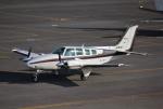 だいまる。さんが、岡南飛行場で撮影した岡山航空 58 Baronの航空フォト(写真)