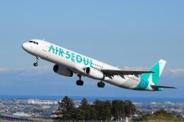 せせらぎさんが、静岡空港で撮影したエアソウル A321-231の航空フォト(写真)