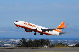 せせらぎさんが、静岡空港で撮影したチェジュ航空 737-8ASの航空フォト(写真)