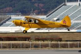 やまけんさんが、松本空港で撮影した日本法人所有 PA-18-150 Super Cubの航空フォト(写真)