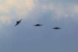 kazuchiyanさんが、岩国空港で撮影したアメリカ海軍 EA-18G Growlerの航空フォト(写真)