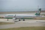 FRTさんが、関西国際空港で撮影したエバー航空 A321-211の航空フォト(飛行機 写真・画像)