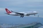 FRTさんが、関西国際空港で撮影したターキッシュ・エアラインズ A330-203の航空フォト(写真)