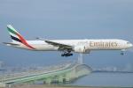 FRTさんが、関西国際空港で撮影したエミレーツ航空 777-31H/ERの航空フォト(写真)