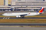 PASSENGERさんが、羽田空港で撮影したフィリピン航空 A330-343Xの航空フォト(写真)