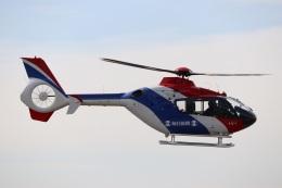 つっさんさんが、伊丹空港で撮影した毎日新聞社 EC135T1の航空フォト(写真)