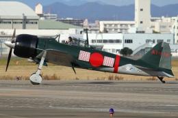 Wings Flapさんが、名古屋飛行場で撮影したゼロエンタープライズ Zero 22/A6M3の航空フォト(写真)