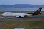みるぽんたさんが、関西国際空港で撮影したUPS航空 747-8Fの航空フォト(写真)