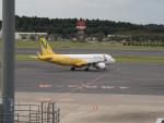 名無しの権兵衛さんが、成田国際空港で撮影したバニラエア A320-214の航空フォト(写真)