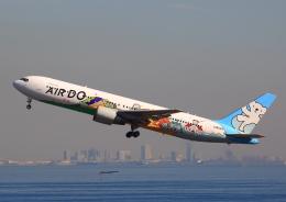タミーさんが、羽田空港で撮影したAIR DO 767-381の航空フォト(写真)