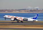 タミーさんが、羽田空港で撮影した全日空 777-381/ERの航空フォト(写真)