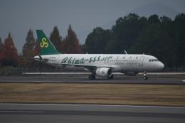 JLさんが、高松空港で撮影した春秋航空 A320-214の航空フォト(飛行機 写真・画像)