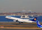 タミーさんが、羽田空港で撮影したルフトハンザドイツ航空 A340-642の航空フォト(写真)