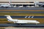 ハピネスさんが、羽田空港で撮影したメトロジェット G-V-SP Gulfstream G550の航空フォト(飛行機 写真・画像)
