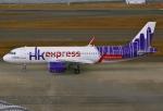 あしゅーさんが、中部国際空港で撮影した香港エクスプレス A320-271Nの航空フォト(飛行機 写真・画像)