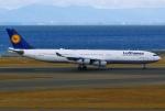 あしゅーさんが、中部国際空港で撮影したルフトハンザドイツ航空 A340-313Xの航空フォト(飛行機 写真・画像)