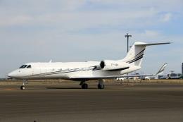 スポット110さんが、羽田空港で撮影したエグゼクジェット・ミドル・イースト G-IV-X Gulfstream G450の航空フォト(飛行機 写真・画像)