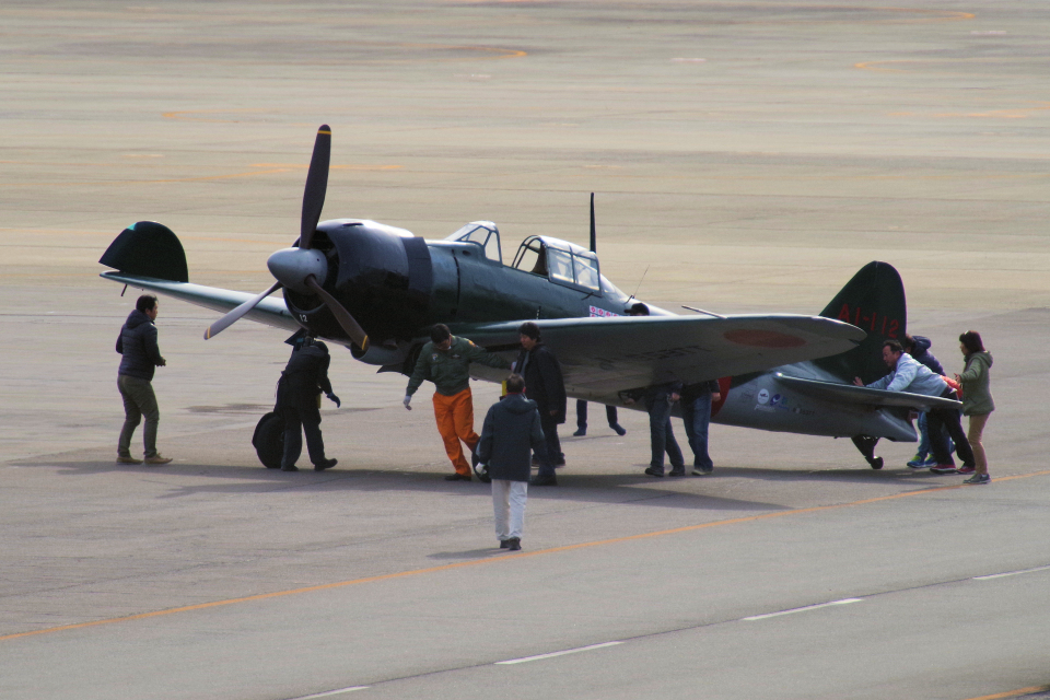 yabyanさんのゼロエンタープライズ Mitsubishi Zero A6M (N553TT) 航空フォト
